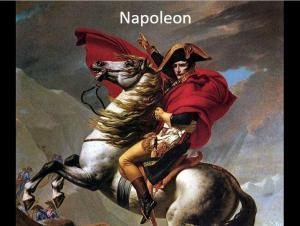 Resimli Okuma Parçası Napoleon Part I