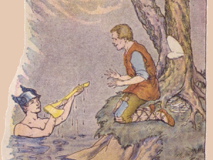 Mercury and the Woodman