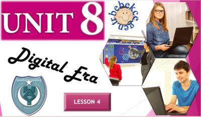 English Course 10. sınıf Unit 8 Lesson 4 Akıllı Tahta Sunumu